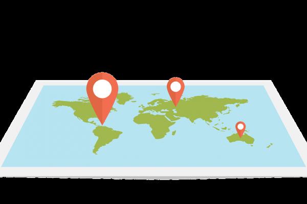 your business on google, cartoon maps - Fandango