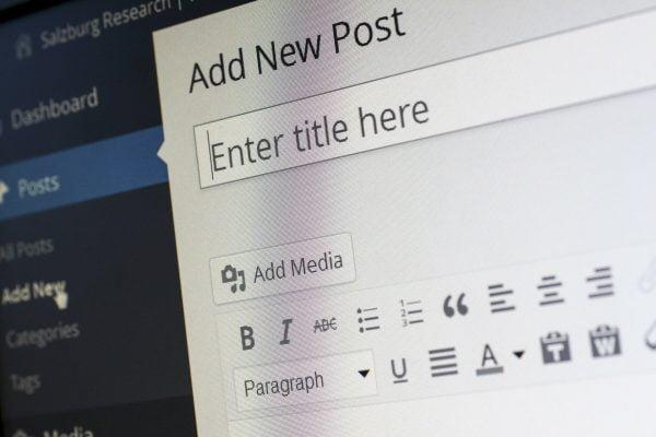 Wordpress Blog creation - to blog or not to blog | Fandango