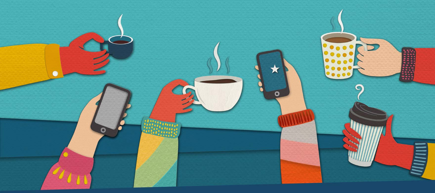 Coffees and smartphones