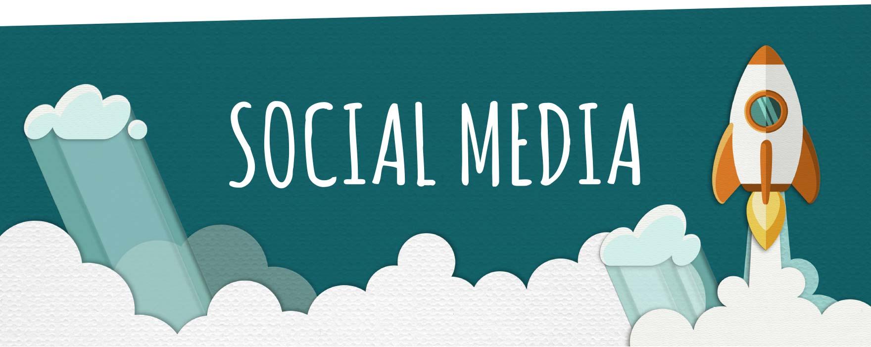 Social media rocket launch