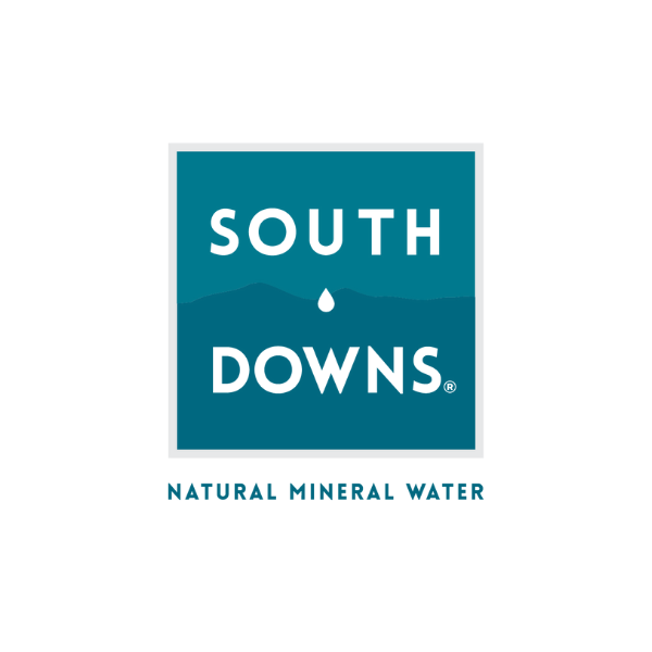 south downs water - natural mineral water logo clients page